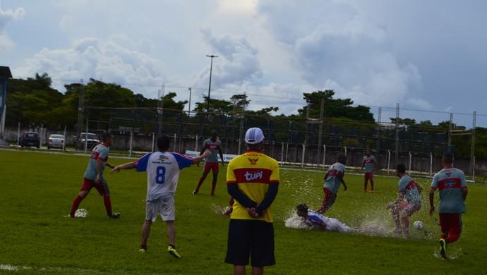 Vilhena faz amistoso contra o selecionado do Cone Sul em preparação ao segundo jogo da Copa do Brasil (Foto: Dennis Weber)