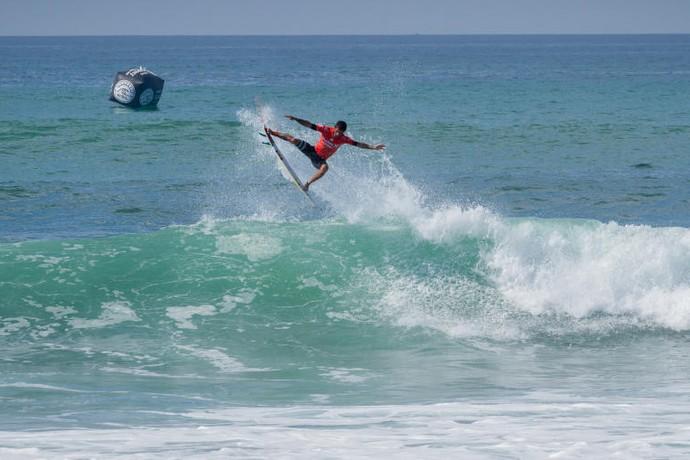 Filipe Toledo x Michel Bourez round 3 Trestles surfe (Foto: Divulgação/WSL)