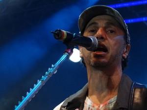 """Baleiro cantou hits como """"Vô embolá"""", """"Versos Perdidos"""", """"Telegrama"""" e """"Salão de Beleza"""" (Foto: Luna Markman / G1)"""