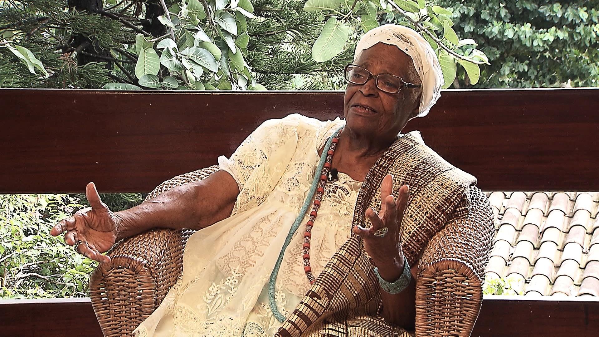 Mãe Stella faz reflexões sobre velhice e espiritualidade em entrevista ao quadro Em Off (Foto: Divulgação)