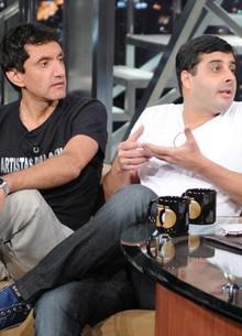 Humoristas mostram números (TV Globo/Programa do Jô)