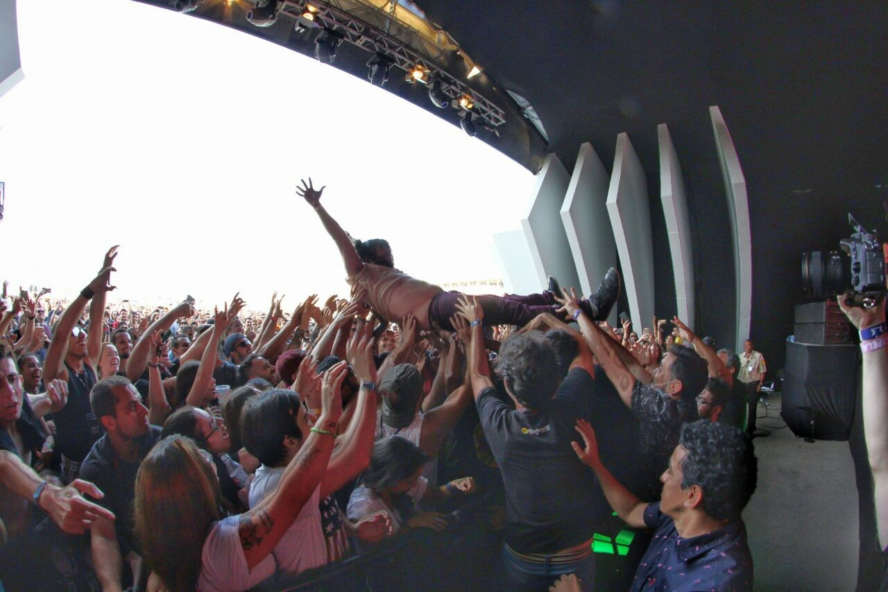 Maurcio Meirelles na plateia (Foto: Divulgao)