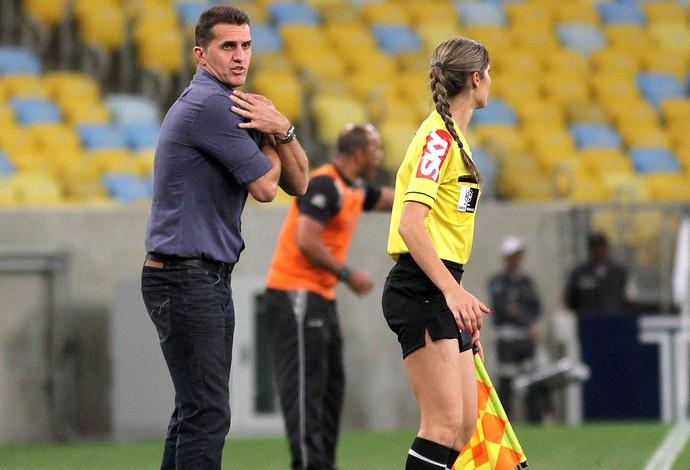 Vagner Mancini jogo Botafogo x Ceará Copa do Brasil (Foto: Vitor Silva / SS Press)