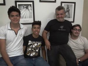 Homossexual adota garotos em Ribeirão Preto, SP (Foto: Manoela Marques/G1)