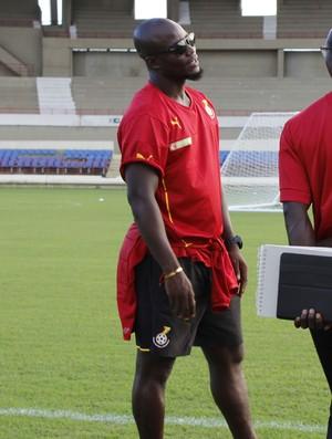 Stephen Appiah Gana (Foto: Caio Lorena/GloboEsporte.com)