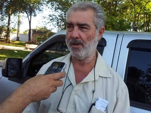 O avô materno, Vicente Ponte, disse que espera ver o crime esclarecido (Foto: Eduardo Guidini/G1)