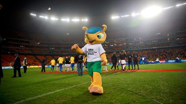 Fuleco brasil gol África do Sul amistoso (Foto: Jefferson Bernardes / Vipcomm)
