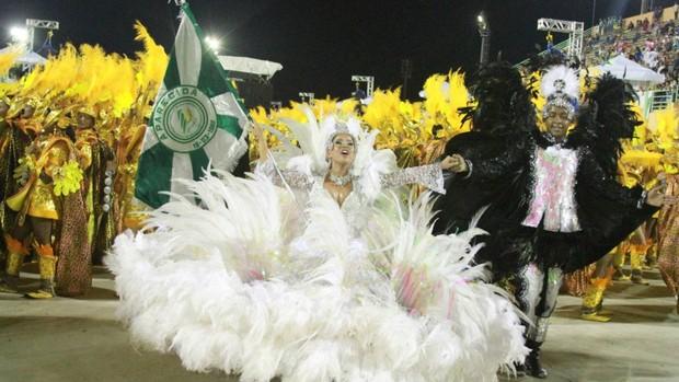 Veja imagens do desfile campeão (Frank Cunha/G1)