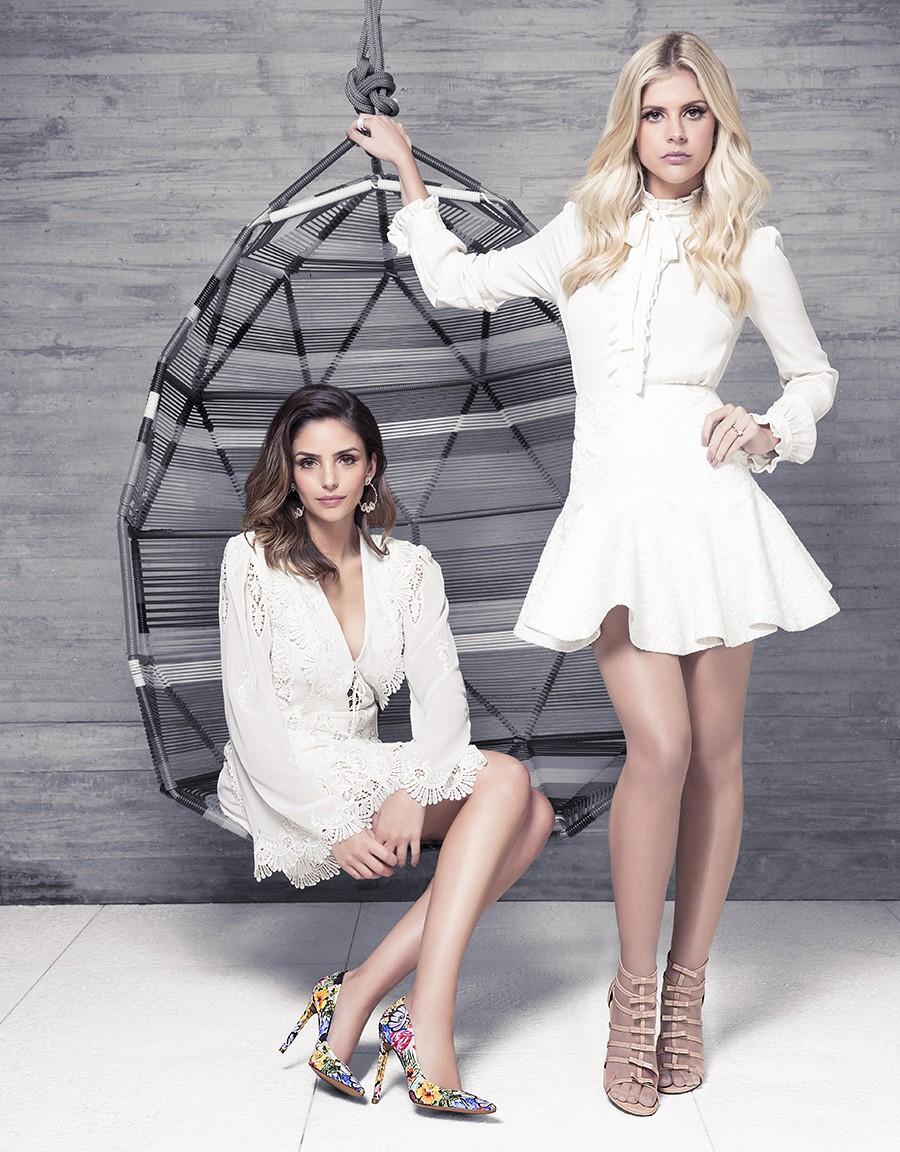 4069a8174 Alto Verão 2016 Uza Shoes Lala Rudge e Carol Celico (Foto  Reprodução)
