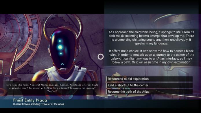 No Man's Sky: Nada e Polo são dois aventureiros que podem te ajudar na jornada ao centro da galáxia (Foto: Reprodução/US Gamer) (Foto: No Man's Sky: Nada e Polo são dois aventureiros que podem te ajudar na jornada ao centro da galáxia (Foto: Reprodução/US Gamer))
