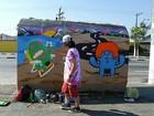 Associação promove sarau com poesia, dança e grafite em Suzano