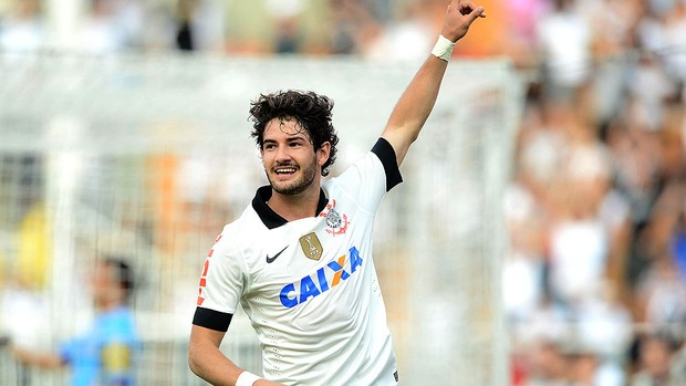 Pato gol Corinthians Atlético Sorocaba (Foto: Mauro Horita / Ag. Estado)