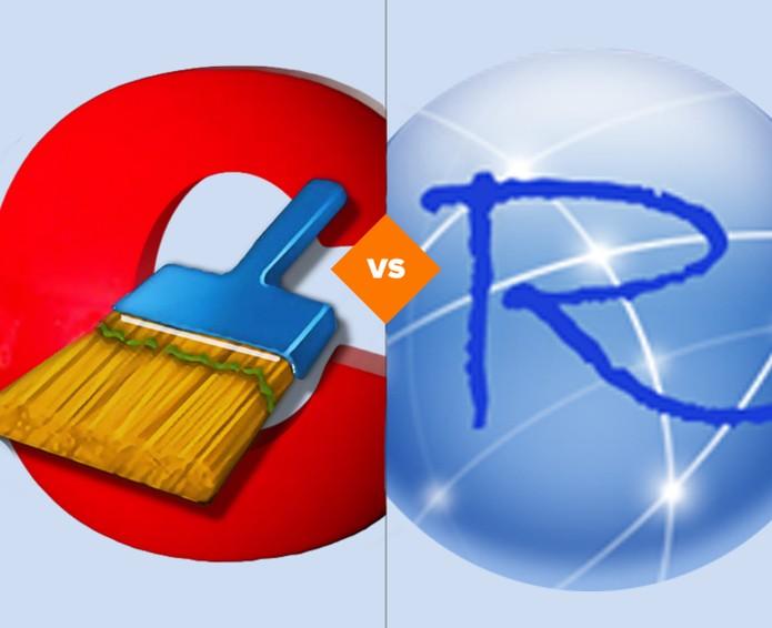 Quem sairá melhor nesta disputa: CCleaner x Revo Uninstaller?  (Foto: Arte/TechTudo)
