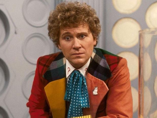 Colin Baker em 'Doctor Who' (Foto: Divulgação)