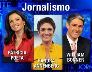 Melhores do Ano - Jornalismo (Foto: Domingão do Faustão / TV Globo)