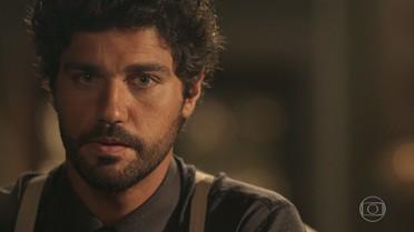 Reinaldo diz a Inácio para não se casar com Lucinda se ele estiver em dúvida