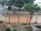 Chuva forte atinge bairros de Três Rios, RJ