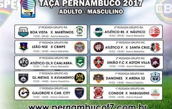 Futebol 7: dez jogos movimentam Taça Pernambuco neste domingo