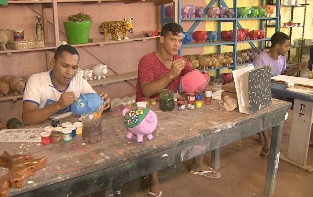Presídio de Porto Velho oferece oportunidade para ressocialização de detentos (Foto: Bom Dia Amazônia)