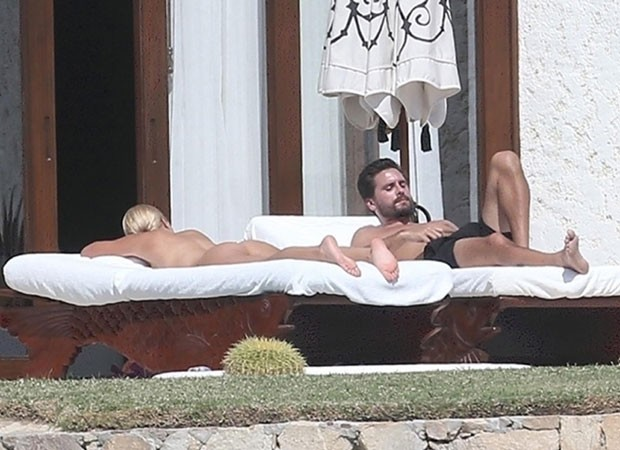 Sofia Richie e Scott Disick (Foto: The Grosby Group)