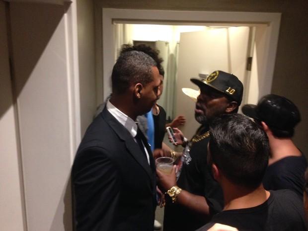 Mr. Catra invade banheiro de festa pós-Rock in Rio (Foto: Divulgação)