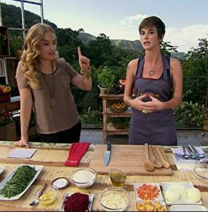 Dani Moreno prepara feijoada vegetariana (Estrelas/TV Globo)