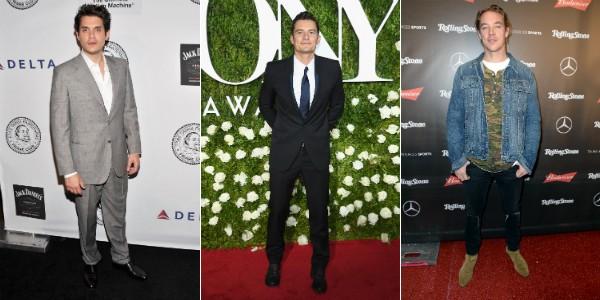 Os ex de Katy Perry: John Mayer, Orlando Bloom e Diplo (Foto: Getty Images)