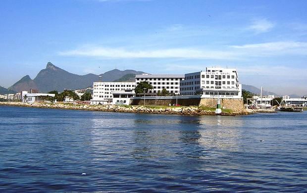 Escola Naval instalações Jogos Militares (Foto: Divulgação)