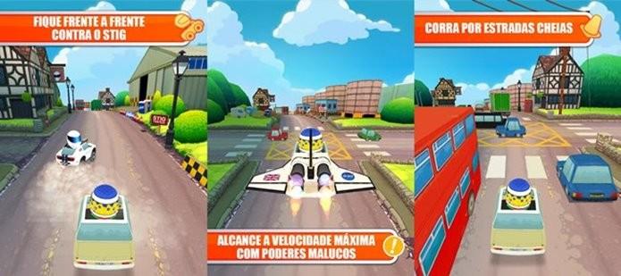 O game do programa de TV Top Gear permite pilotar até uma Shuttle (Foto: Divulgação)