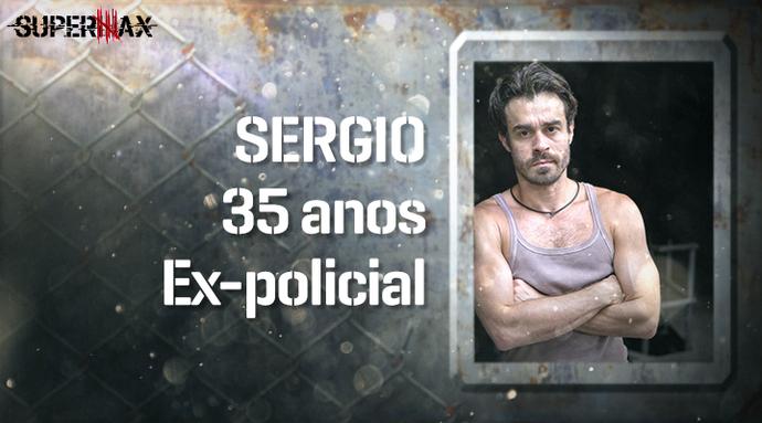 Supermax: perfil do participante Sergio (Foto: Gshow)