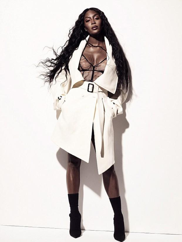 Naomi Campbell (Foto: Reprodução/ES Magazine)