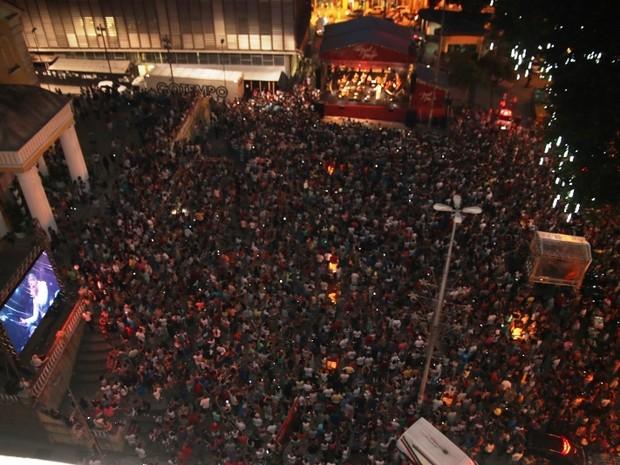 Espetáculo gratuito encerrou a programação do Natal da Magia (Foto: Martinho Ghizzo/Divulgação)