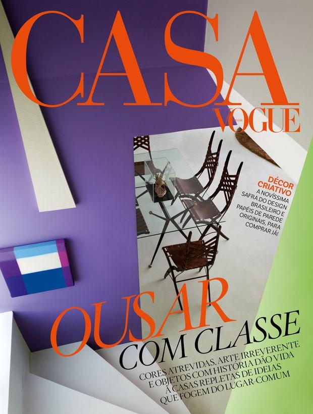 Ousar com classe é o lema da Casa Vogue de setembro (Foto: Casa Vogue)