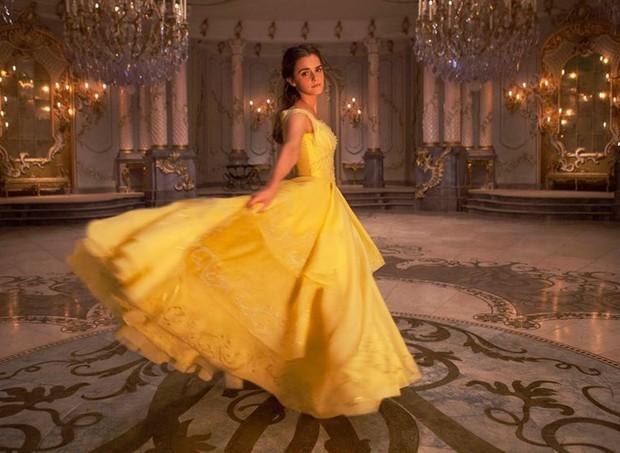 Quem não se lembra do clássico vestido amarelo? (Foto: Divulgação/ Disney)