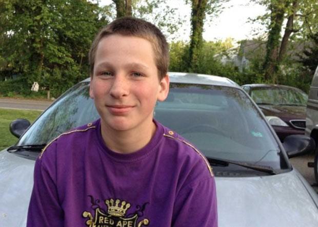 Ryan Hart, de 14 anos, diz ter encontrado um pedaço de dedo em um sanduíche. (Foto: Danielle Salisbury/Jackson Citizen Patriot/AP)