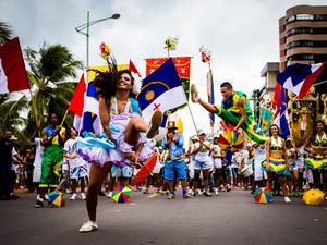 Danças Mistura com Rodaika musica maxixe samba frevo vaneirão (Foto: Jonathan Lins/G1)