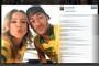 Claudia Leitte publica foto ao lado do jogador Neymar