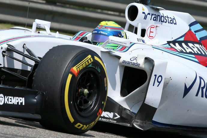 Felipe Massa treino classificatório GP da China - Fórmula 1 (Foto: EFE)