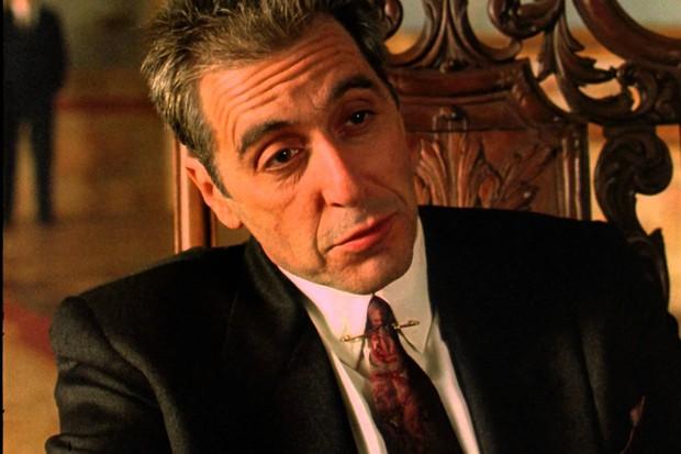 Al Pacino em O Poderoso Chefão 3 (Foto: Divulgação)