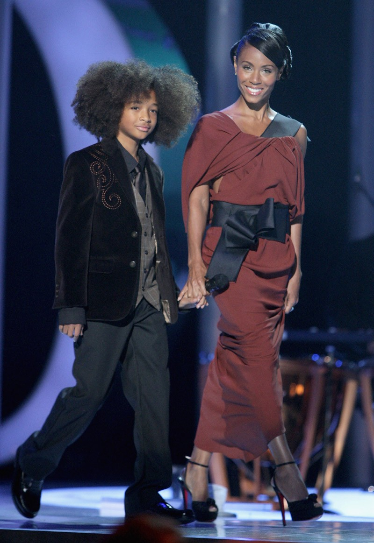 Jaden Smith e Jada Pinkett Smith (Foto: Getty Images)