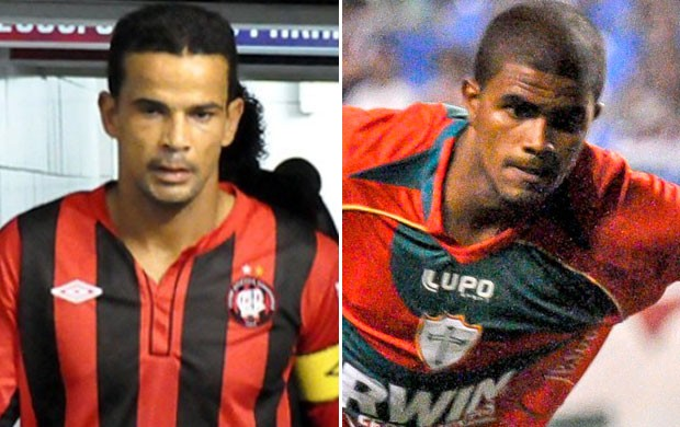 Bruno Mineiro do Atl&#233;tico-PR e Henrique da Portuguesa (Foto: Editoria de Arte / Globoesporte.com)
