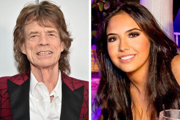 Mick Jagger e a ex Noor Alfallah (Foto: Getty e reprodução)