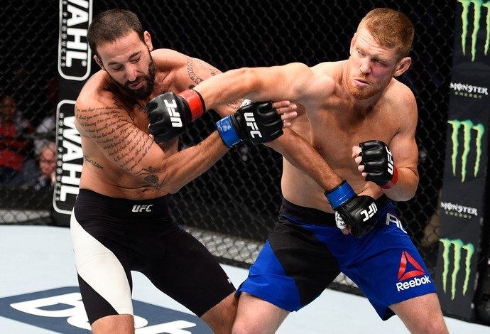 Sam Alvey Alex Nicholson UFC México 3 (Foto: Getty Images)
