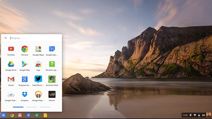 Apps que rodam no ChromeOS funcionam também no ChromiumOS (Foto: Paulo Alves/TechTudo)