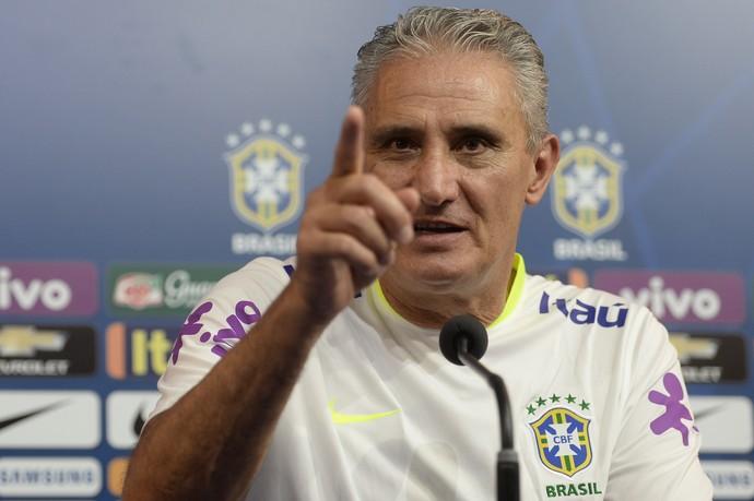 Tite coletiva seleção brasileira (Foto: Pedro Martins / MoWA Press)