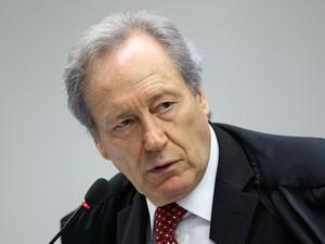 O ministro Ricardo Lewandowski durante sessão do julgamento do mensalão (Foto: Nelson Jr. / STF)