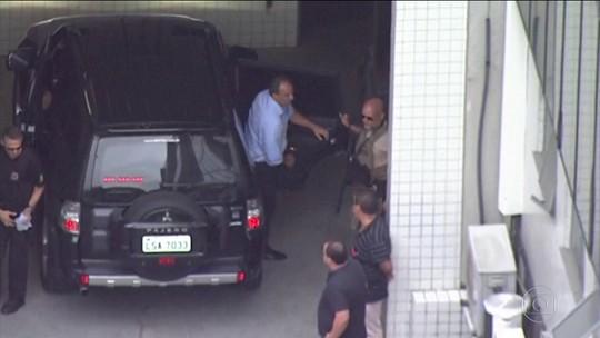 Ex-governador do Rio Sérgio Cabral passa a primeira noite no presídio