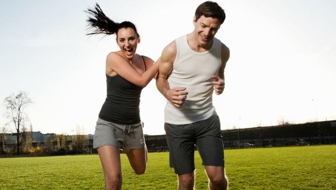 casal exercício euatleta (Foto: Getty Images)