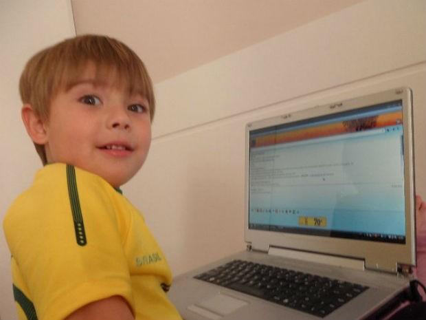 Estudante acredita que o blog é uma maneira de retribuir outros blogueiros (Foto: Arquivo pessoal)
