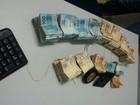 Polícia acha R$ 160 mil com suspeitos de mega-assalto presos em Goiás